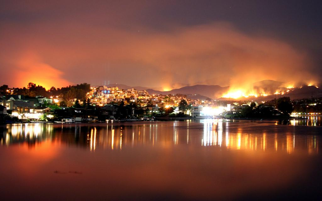 Fires Near Me >> Southern California Fires – October 2007 | Tacky Raccoons
