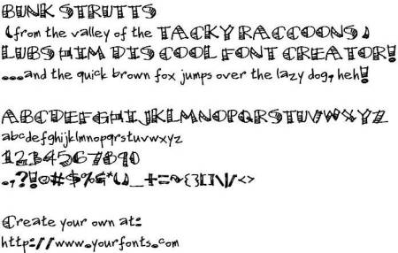 funky-bunky-font