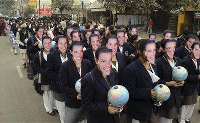 APTOPIX India Obama Inauguration Global Reax