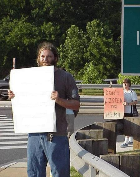 PROTEST - DONT LISTEN TO HIM