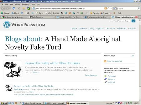 Blogs About Handmade Aboriginal Novelty Fake Turd