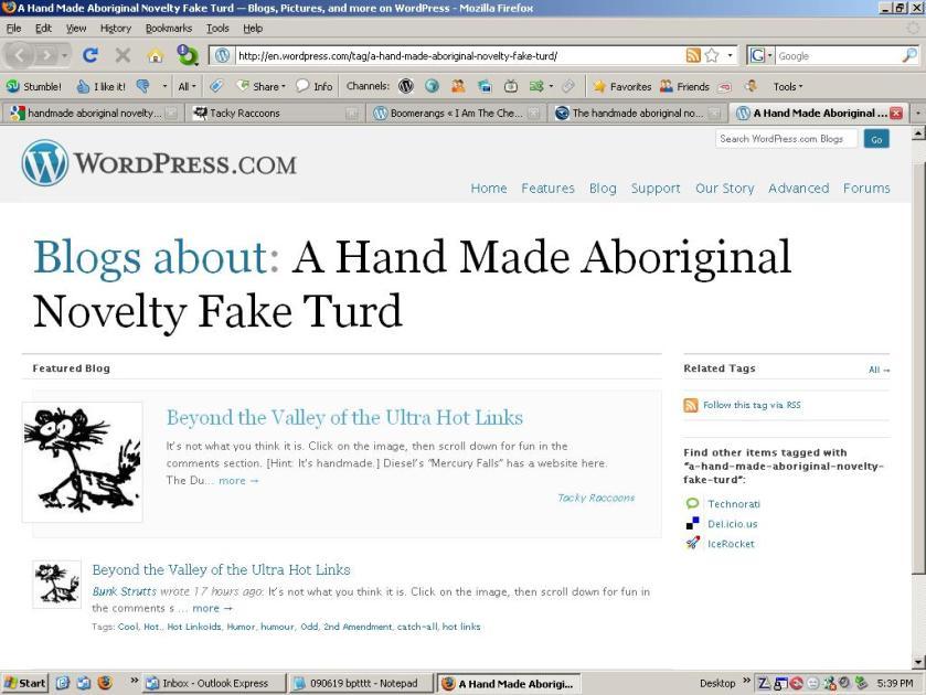 Blogs About Handmade Aboriginal Novelty Fake Turd