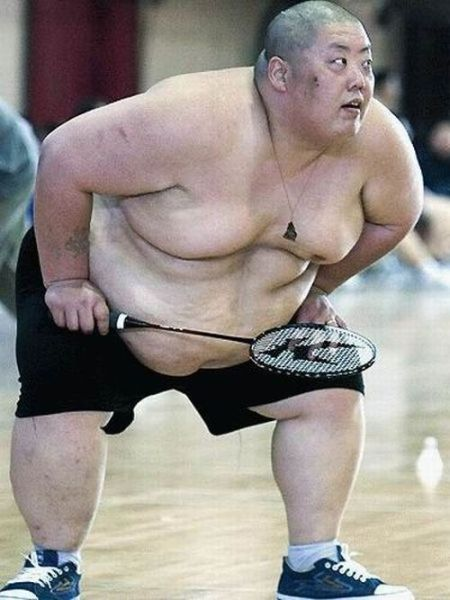 Sumo Badminton_Daily picdump