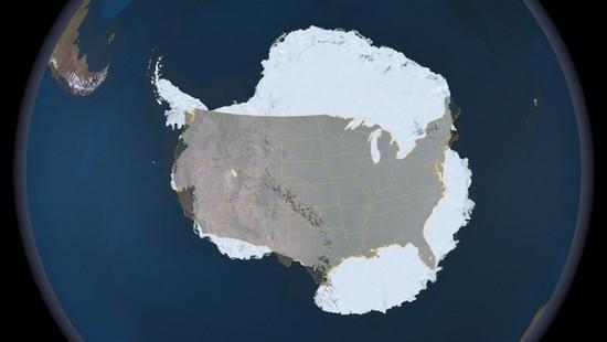 Antarctica US size comparison_Bits and Pieces  091020