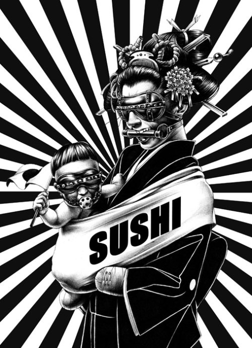Sushi_James Mabe on art and more 091001