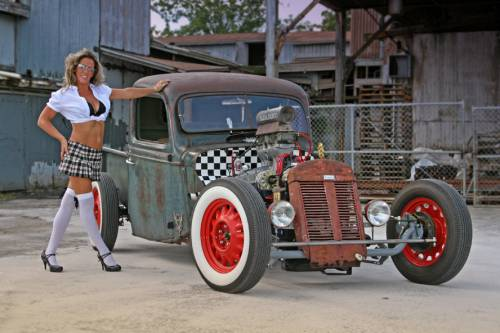 Hot rods tacky raccoons - Girls and trucks tumblr ...