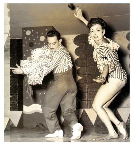Ana Gloria and Ronaldo, Havana, 1957