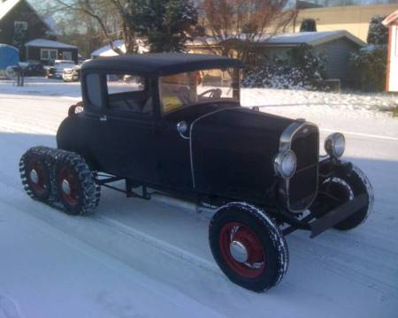 1931 Model A Snowcar 1