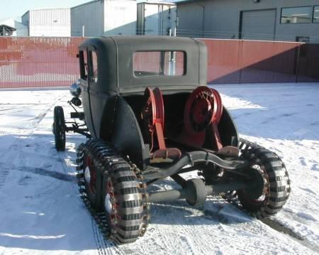 1931 Model A Snowcar 2