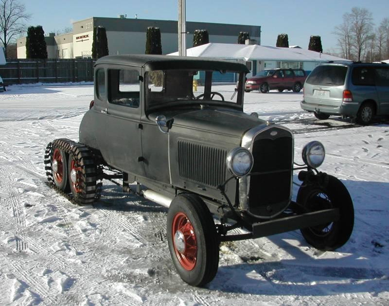 1931 Model A Snowcar 3
