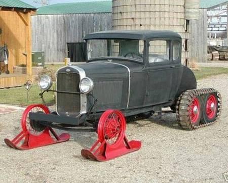 1931 Model A Snowcar 4