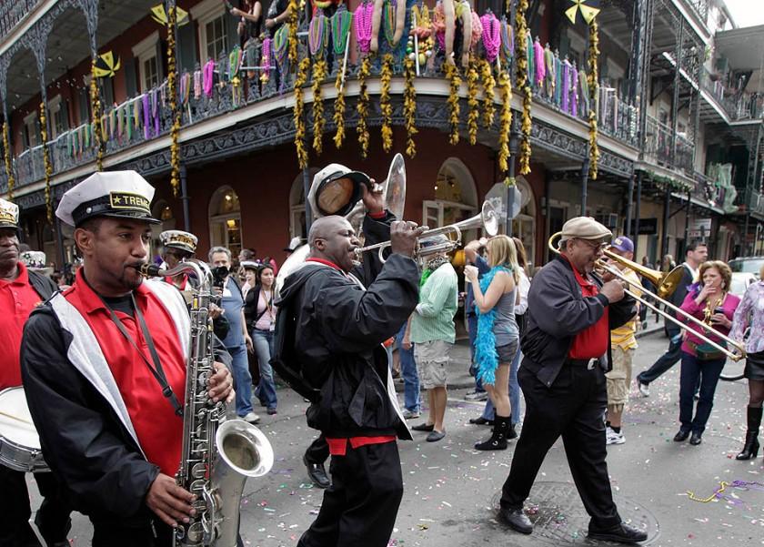 Mardi Gras: Treme Jazz Band
