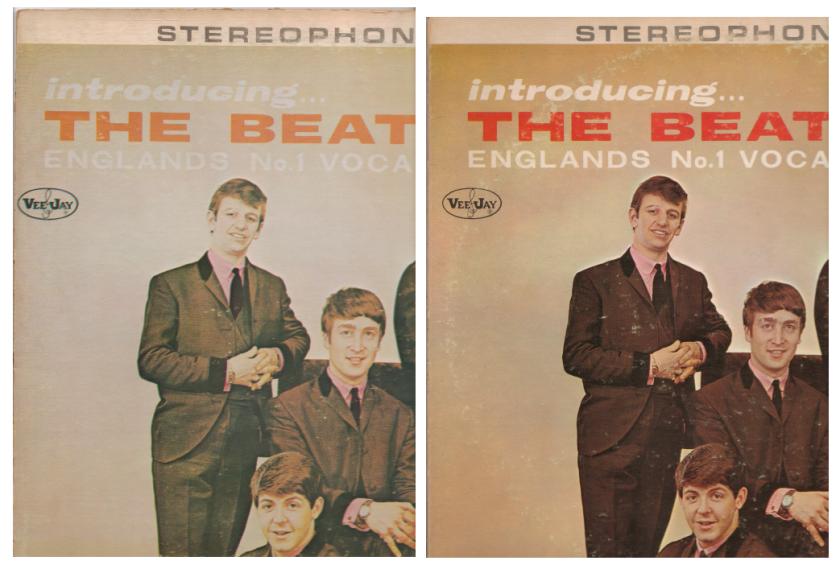 Introducing The Beatles V2 V1 Comparison