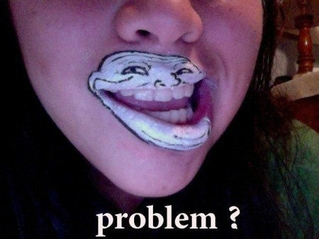 Trollface Face