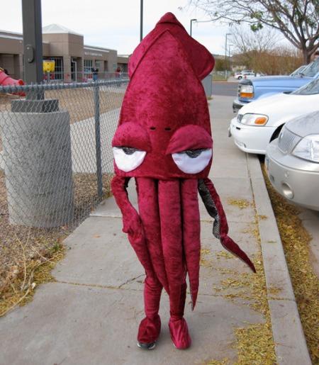squid costume