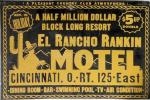 Cincinnati Retro El Rancho Rankin Motel