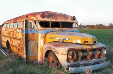 Rat Rod Bus