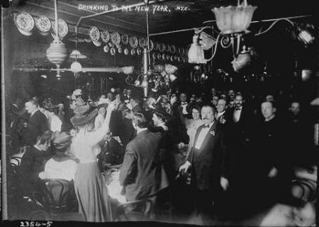 New Year's Eve c. 1910 NYC