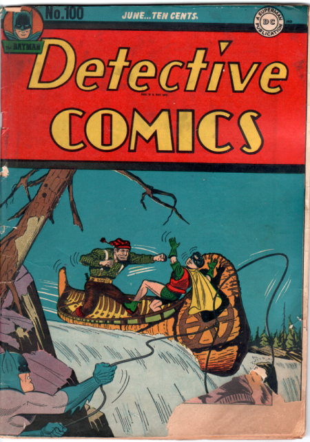 Detective Comics #100 a