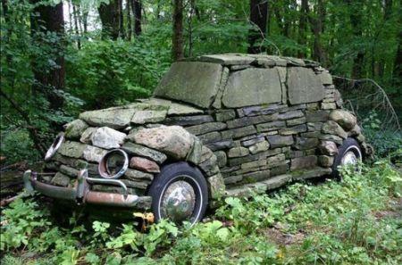 Flinstone Car