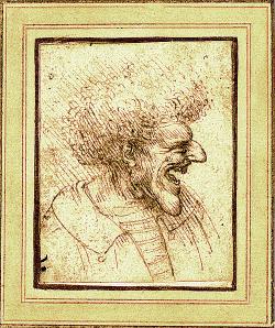 Da Vinci Caricature 1495