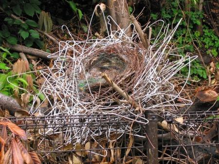 clothes hanger crows nest 2