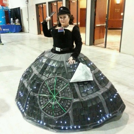 Death Star Dress FAIL