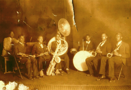 Early Jazz Band Unknown