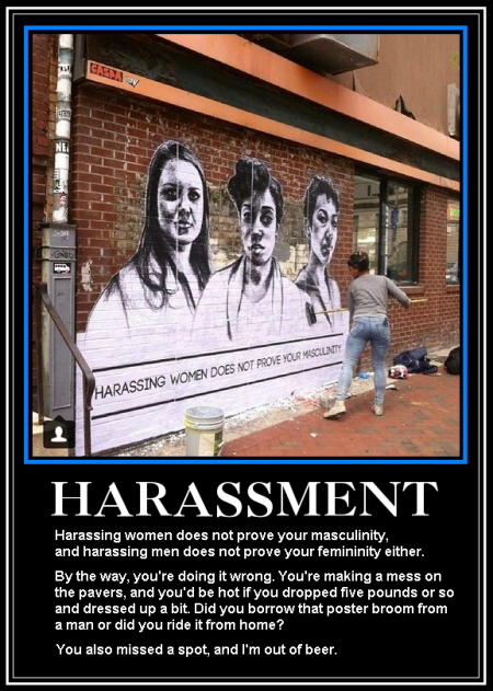 Sexual Harassment Graffito