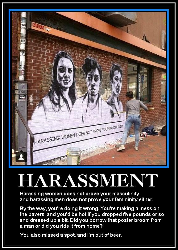 Sexual Harassment Graffito
