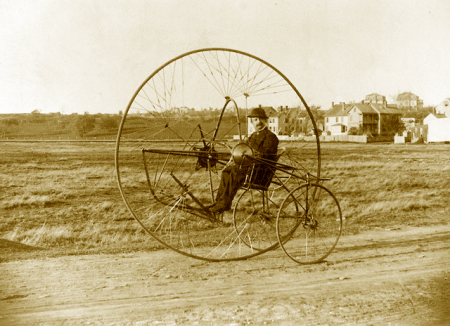 Oldrieve's New Tricycle ca 1882