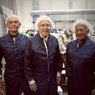 APOLLO Astronauts Collins Lovell & Aldrin