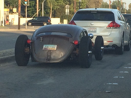 Chopped Lowered VW RatRod Prowler