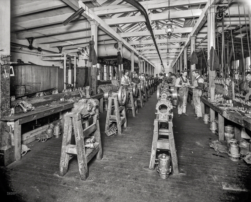 Detroit Machine Shop 1903