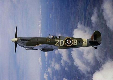 RAF Supermarine Spitfire WWII