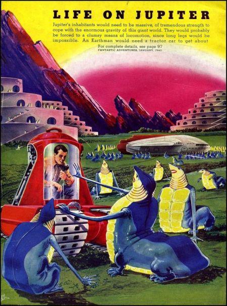 Life On Jupiter 1940