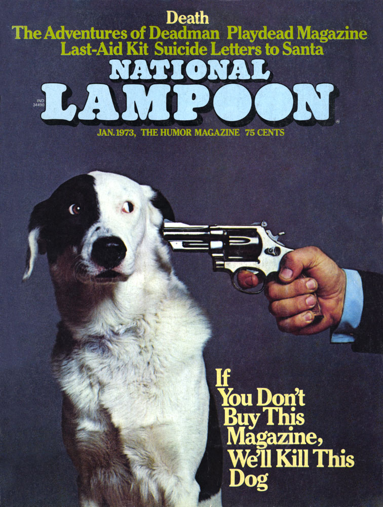 National Lampoon Death Issue