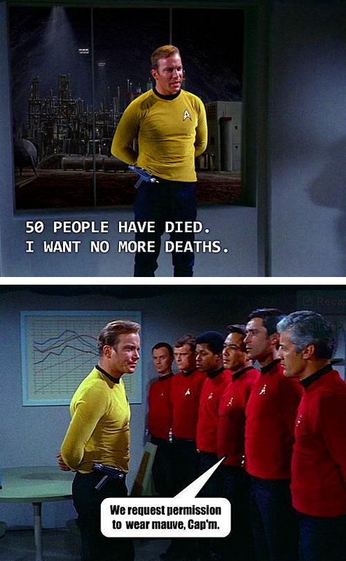Star Trek Certain Death