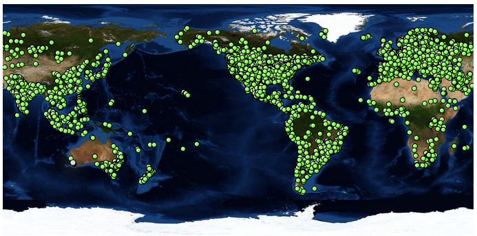 2014 Tacky Raccoons Map