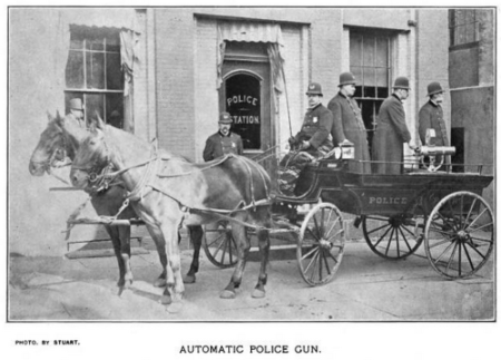 Automatic Police Gun