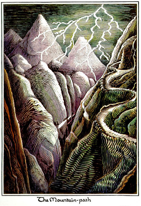 J.R.R. Tolkien The Mountain Path