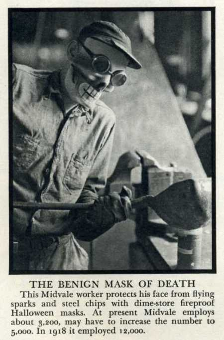 Steeler Mask 1939