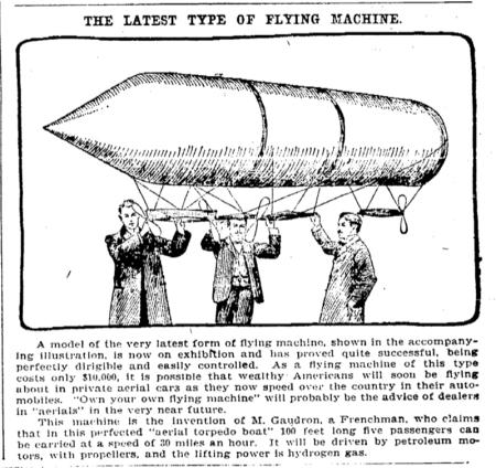 1901 Latest Flying Machine