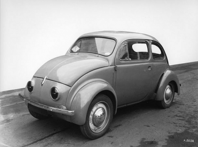1942 Renault 4CV Prototype front