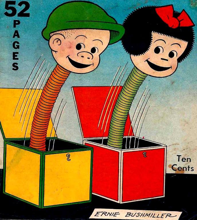 Nancy & Sluggo Creepo