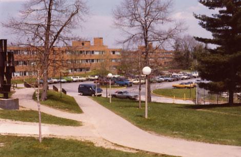 KSU Taylor Hall parking lot