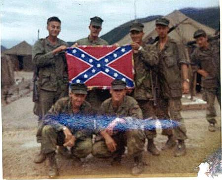 Confederate Flag Military 12