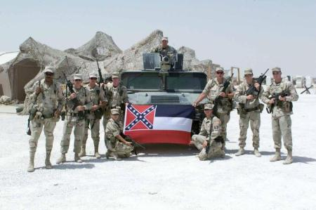 Confederate Flag Military 2