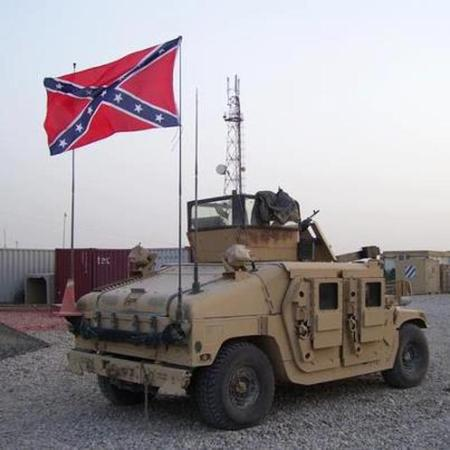 Confederate Flag Military 8