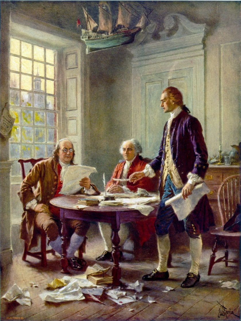 Editing The Declaration of Independence1776
